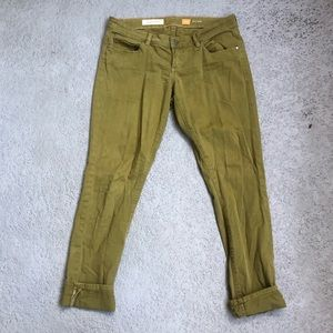 Anthropology Pilcro Letterpress Stet Jeans